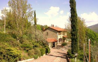 CAFI06 - Villa Foce bei Castiglion Fiorentino - Haus