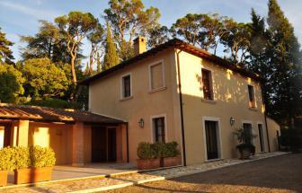 Villa bei Montepulciano