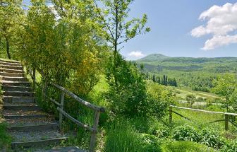Casa Ambasciatore - Blick ins Tal