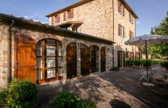 Bio-Agriturismo bei Castiglion Fiorentino - Haus