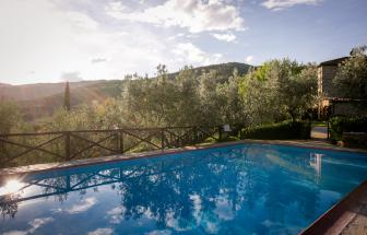Bio-Agriturismo bei Castiglion Fiorentino - Pool