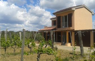 Case Nuove bei Talamone - Casa Gialla