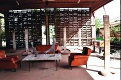 BRAC01 - Künstlerhaus Leccio bei Braccagni - Sitzplatz