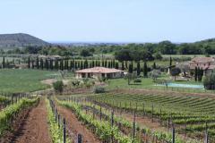 CAPA01 - Casale bei Capalbio - Blick auf DZ Superior